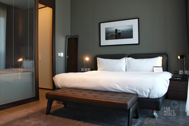 Intercontinental Malta Hotel Highline Suite master bedroom