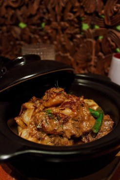 Beef Masaman curry with incredibly tender meat