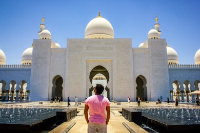 Fab Meets Sheikh Zayed Grand Mosque in Abu Dhabi