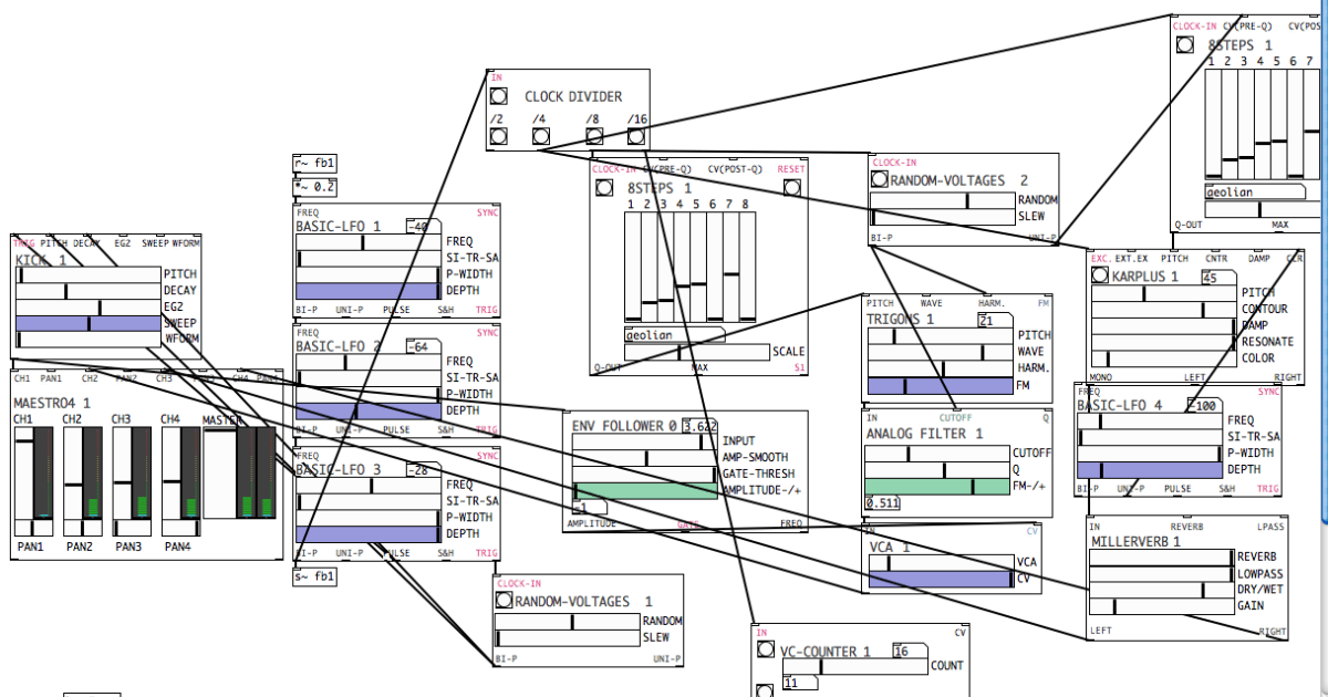 Automatonism is an awesome free modular synth in software