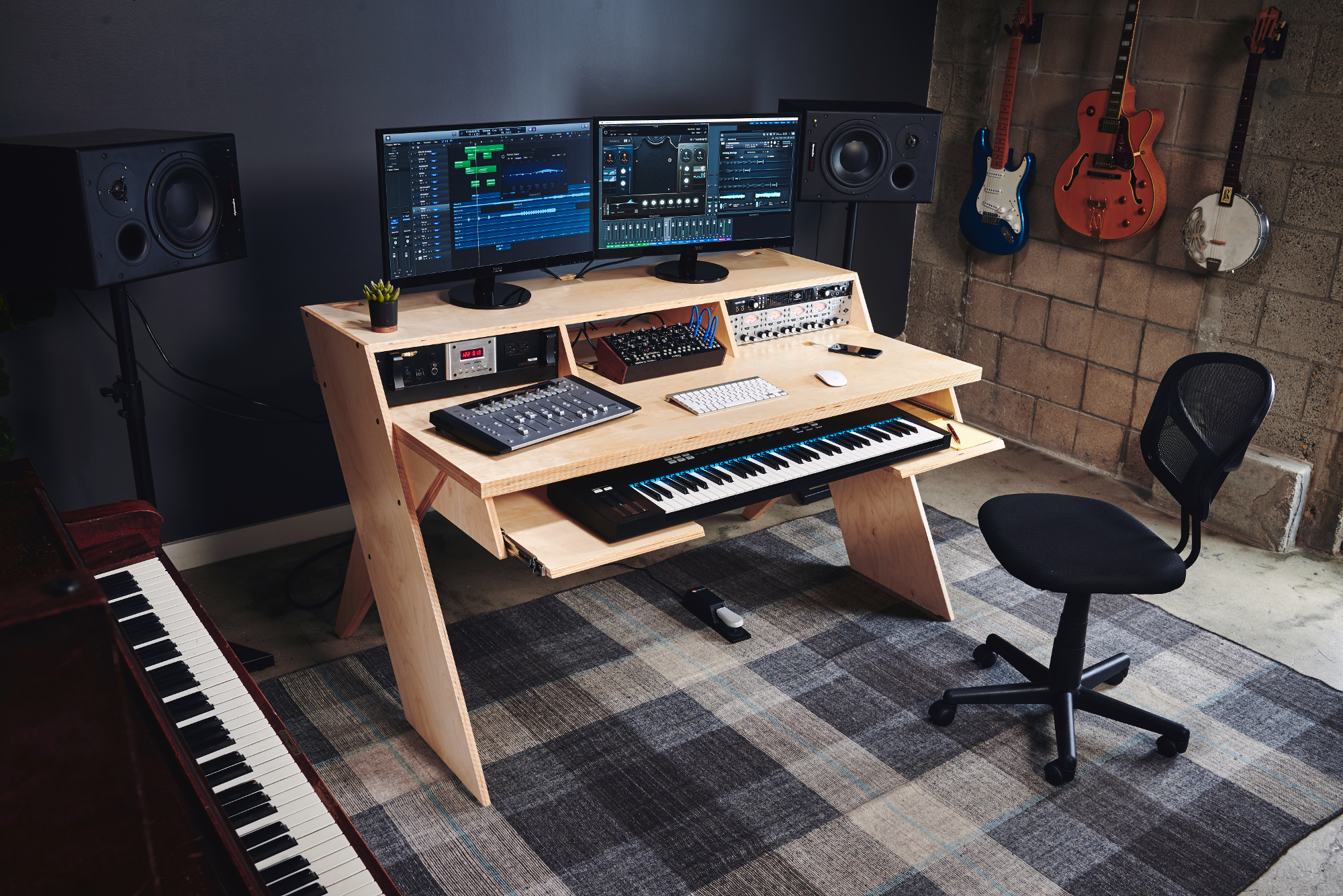 Recording Studio Chair Output 39s Platform Could Be The Home Studio Desk Musicians Want