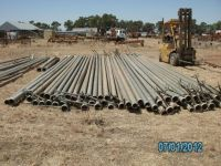 "4"" x 30ft Aluminium irrigation pipes"