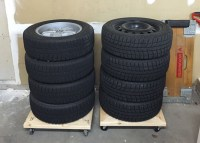 DIY: Build Your Own Tire Storage Dolly