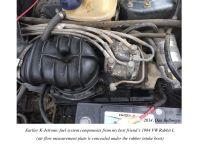 Bosch K-Jetronic Engine Management in a '90 300E Mercedes ...