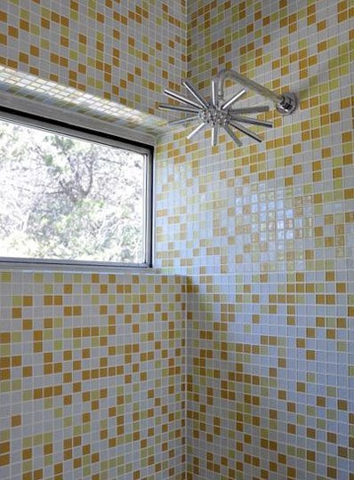 mid century modern tile bathroom ideas