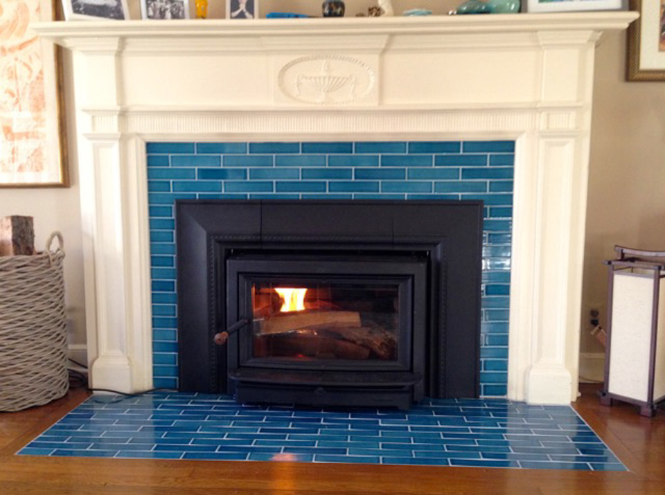 how to choose fireplace tiles