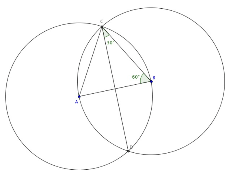 Twelfth grade Lesson Constructing an Equilateral Triangle