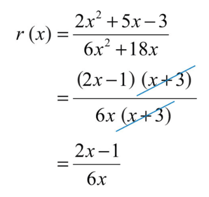 Eleventh grade Lesson Simplifying Rational Expressions Day 1