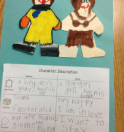 Kindergarten Lesson Characters Change! - Looking at Pictures [ 1067 x 800 Pixel ]