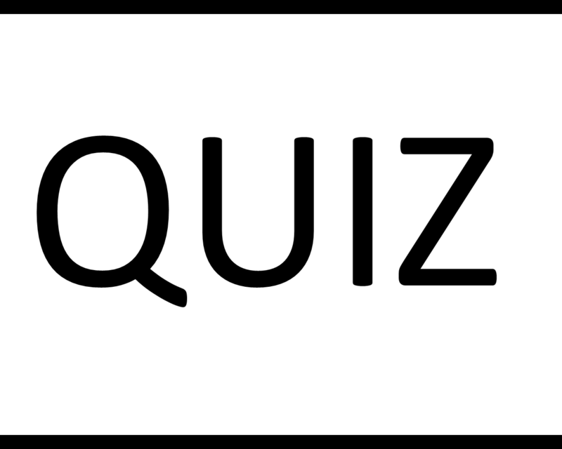 Eleventh grade Lesson Introductory Concepts Quiz