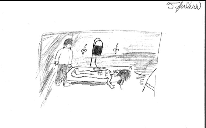 Twelfth grade Lesson Illustrating Frankenstein and his monster