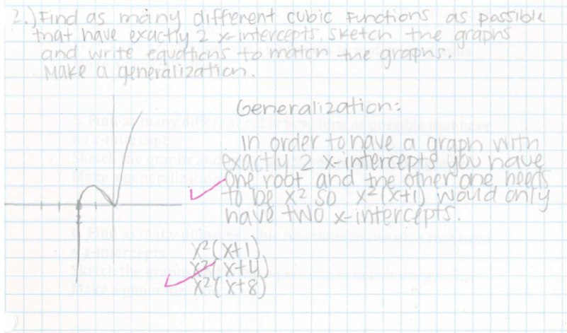 Eleventh grade Lesson Roots and Graphs of Cubic Functions