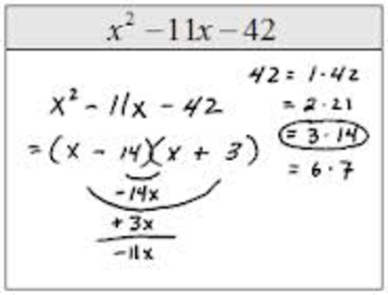 Eighth grade Lesson Factoring trinomials GFC first