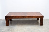 """Parsons"" Coffee Table / Don Shoemaker"