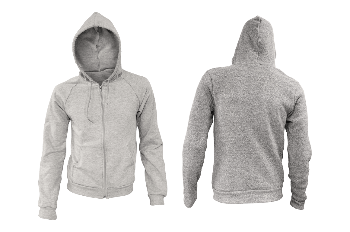 Pullover Hoodie Template Psd