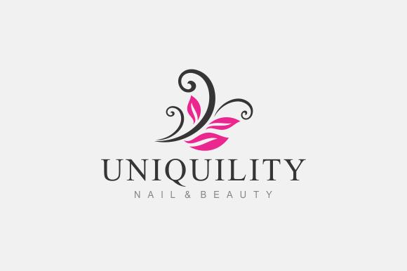 nail & beauty logo templates