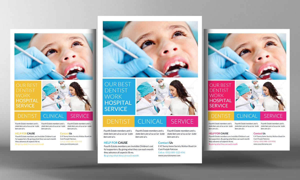 Dental Care Flyer Template Flyer Templates On Creative