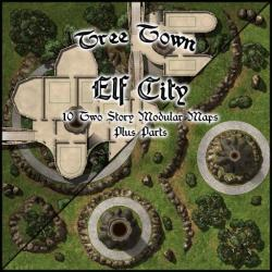 Tree Town Elf City Roll20 Marketplace: Digital goods for online tabletop gaming