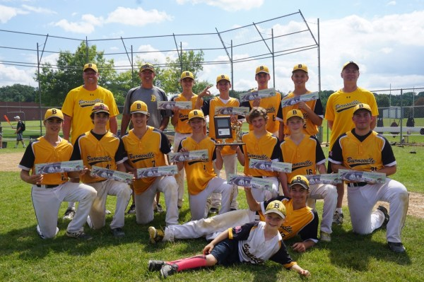 2017 Trophy Case Burnsville Traveling Baseball