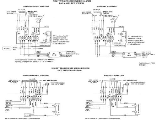 small resolution of d104 mic wiring diagram wiring diagram detailed cobra cb mic wiring diagram astatic d 104 wiring