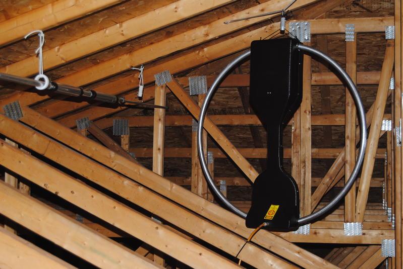 Attic Loop Antennas Ham