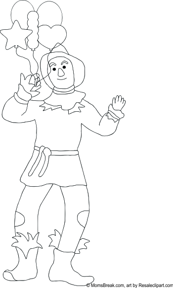 Wizard Of Oz Tin Man Drawing