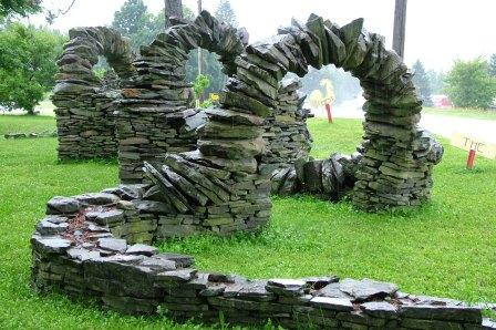 stowe vt stone work landscaping