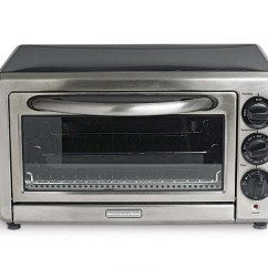 Kitchen Aid Ovens Wrought Iron Chairs Test Drive Toaster Article Finecooking The Powerhouse Kitchenaid Countertop Oven Kc01005