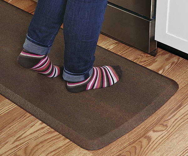 cheap kitchen floor mats round table for 6 happy feet article finecooking