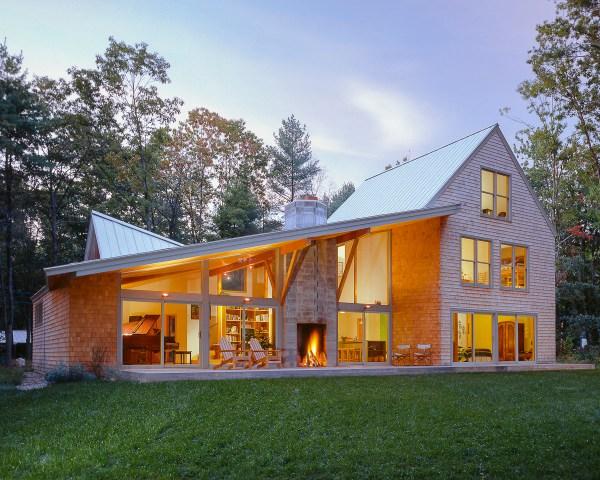 Shingle Style House With Twist - Fine Homebuilding