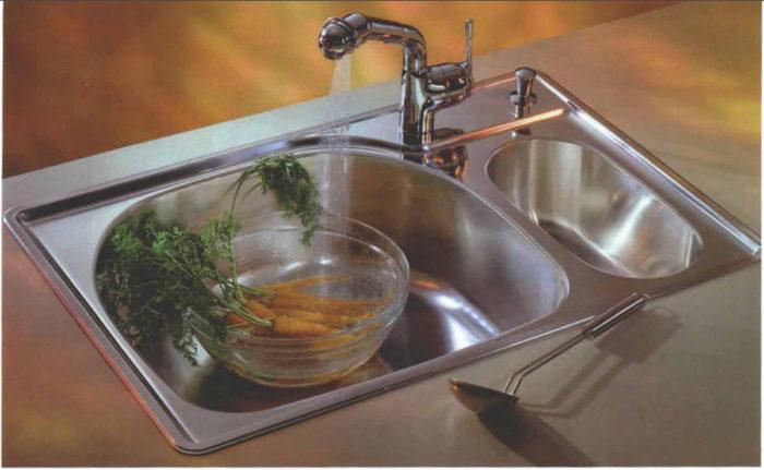 choosing a kitchen sink fine homebuilding