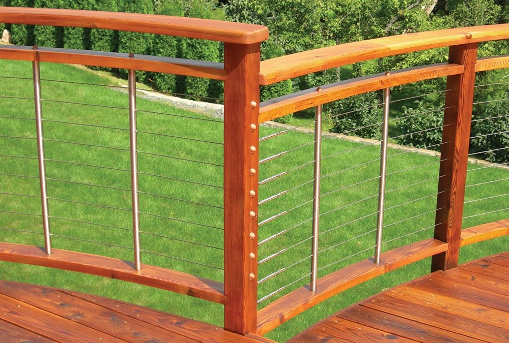 Durable Alternatives To Wood Deck Railings Fine Homebuilding | Wood Balustrades And Handrails | Porch Railings | Front Porch | Stainless Steel | Stair Railings | Glass Balustrade