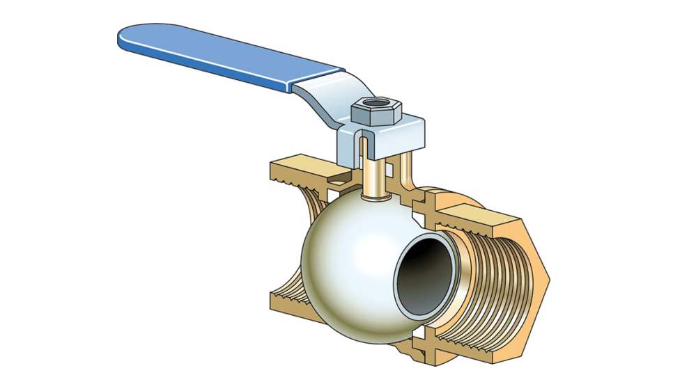 medium resolution of choosing the right plumbing valve fine homebuilding ball valve schematic diagram ball valve diagram