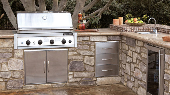 outside kitchen gifts for mom outdoor modular kits fine homebuilding kitchens offer a way to serve food and drinks on deck or patio without having make regular trips between inside