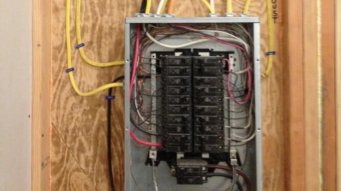 wiring a subpanel  fine homebuilding