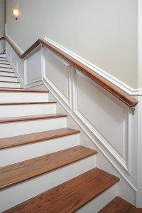 Taking Wainscot Up Stairs