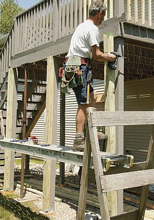 Make an Old Deck Safe