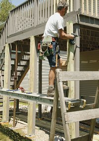 Make an Old Deck Safe - Fine Homebuilding