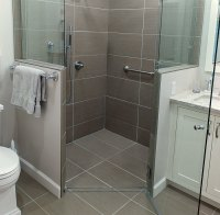 Curbless Shower: Build Up, Not Down - Fine Homebuilding