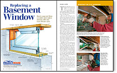 basement wiring diagram automotive relay replacing a window fine homebuilding