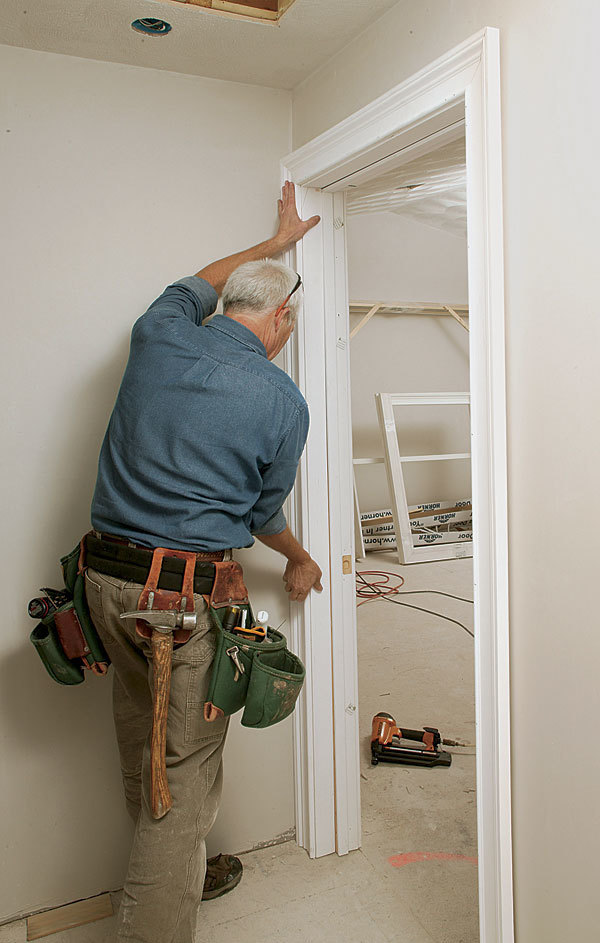 Hang a SplitJamb Door  Fine Homebuilding
