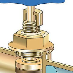 House Plumbing Diagram Gas Furnace Wiring Diagrams What's The Difference: Shutoff Valves - Ball, Gate, And Globe Fine Homebuilding