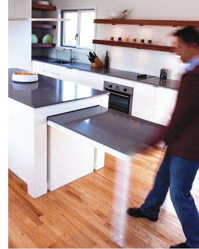 Hideaway Kitchen Table - Fine Homebuilding