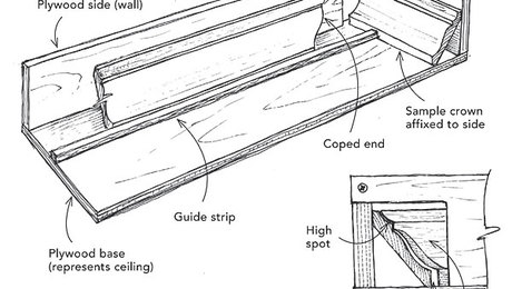Easycoper For Crown Molding