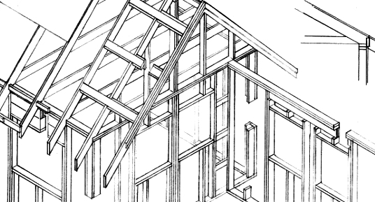 Energy-efficient framing practices for hurricane and