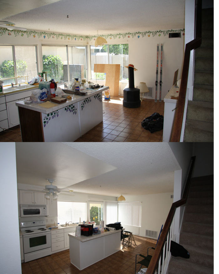 kitchen fixtures lowes home depot refacing 1970's remodel (product from / work done by ...