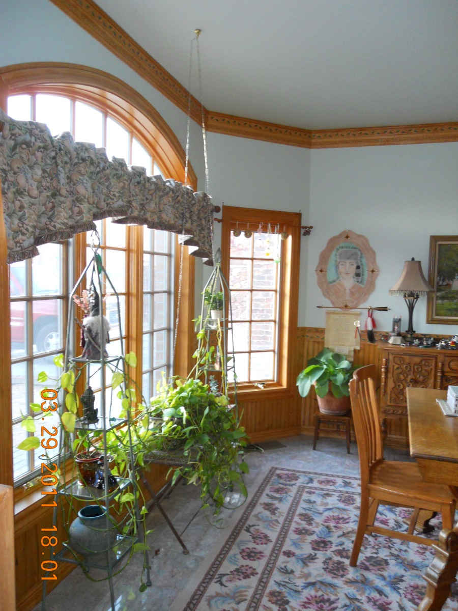 Trim Details In The Dining Room Of A Storybook Home Fine