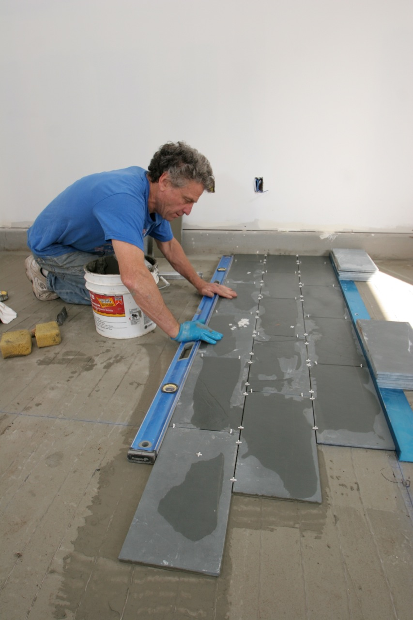 offsetting tile joints to add visual