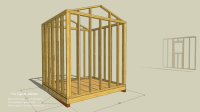Wall Layout and Framing Basics for Simple Shed Project ...