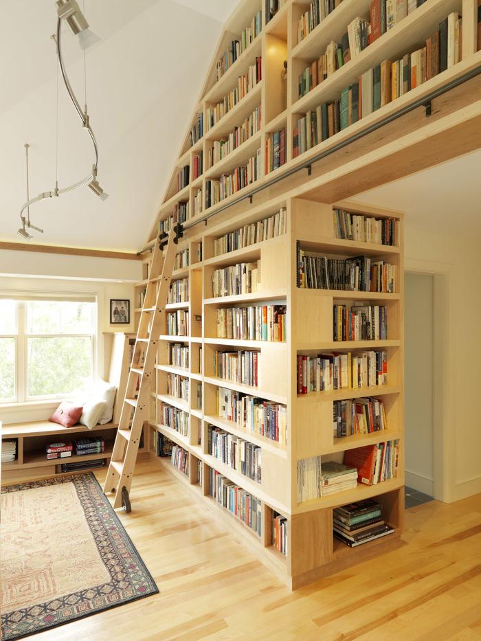 Floor To Ceiling Bookshelves  Fine Homebuilding